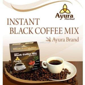Ayura Herbal Instant Black Cofee Mix